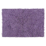 tesco chenille bath mat heather review compare prices. Black Bedroom Furniture Sets. Home Design Ideas