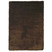 Tesco Extra Thick Shaggy Rug, Chocolate 160X230cm