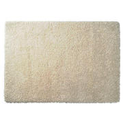 Tesco Extra Thick Shaggy Rug, Cream 160x230cm