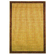Tesco Flatweave Borders Rug, Natural 120X170cm