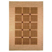 Tesco Flatweave Rug Squares, Natural 120x170cm product image