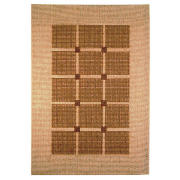 Tesco Flatweave Rug Squares, Natural 170x230cm product image
