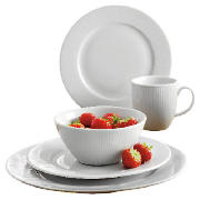 tesco oslo 16 piece dinner set review compare prices. Black Bedroom Furniture Sets. Home Design Ideas