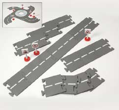 Tesco Road Track Set Wooden Toy Train Set - review, compare prices ...