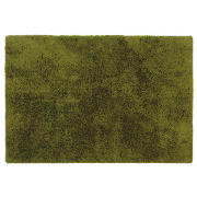 tesco Supersoft Shaggy, Green 120X170cm