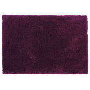 Tesco Supersoft Shaggy, Plum 150X240cm