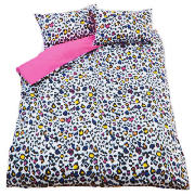 Teenage Modern Spot Print Double, Pink &