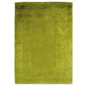 Tesco Tiered Wool Rug, Green 120X170cm