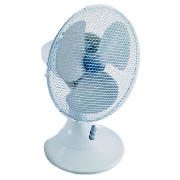 Value 12 plastic desk fan