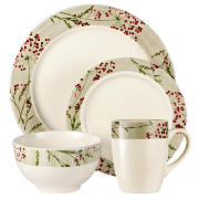 tesco wild berries dinner set 16 piece review compare. Black Bedroom Furniture Sets. Home Design Ideas