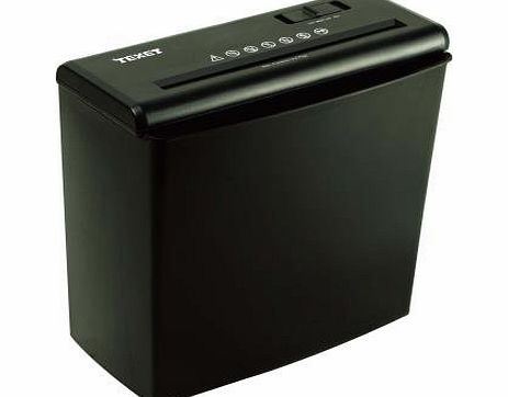 Texet 10 Litre Strip Cut Shredder 5 Sheet Black product image