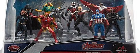 The Avengers Marvel Avengers Deluxe Figurine Set Featuring Captain America: Civil War complete collection