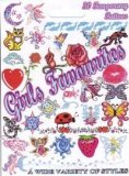 Assorted Pack of 50 Girls Favourite Temporary Tattoos