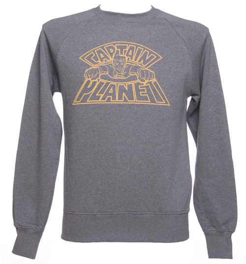 The Environmental Justice Founda Mens Captain Planet Logo Raglan Sweatshirt product image
