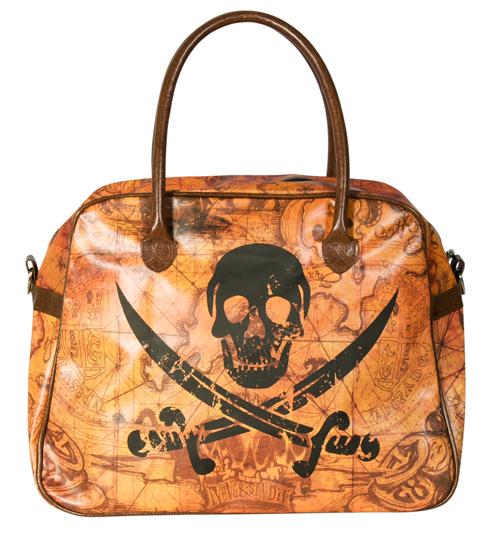 Goonies Map and Logo Overnight Bag