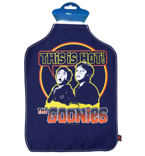 Goonies This Is Hot Hot Water Bottle Cover