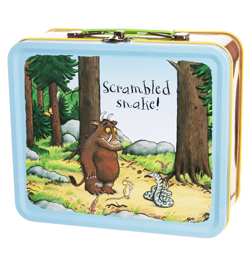 Gruffalo Blue Tin Lunchbox