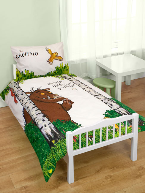 Gruffalo Help Junior Panel Duvet Cover
