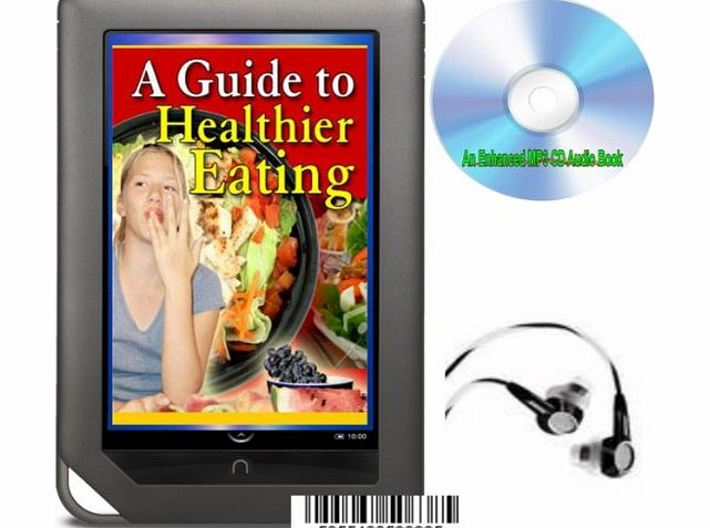 The Houseshop AN ENHANCED MP3 CD AUDIO GUIDE TO HEALTHIER EATING WITH LOADS OF TASTY RECIPES
