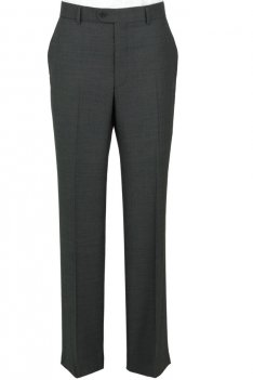 The Label Grey Herringbone Suit Trousers product image