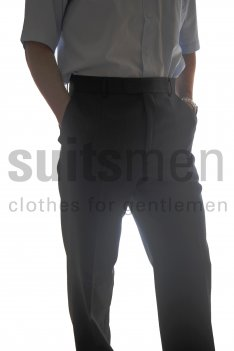 The Label Herringbone Suit Trousers product image