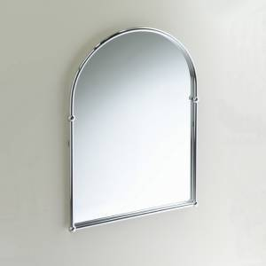 Thames Chrome Arched Mirror.