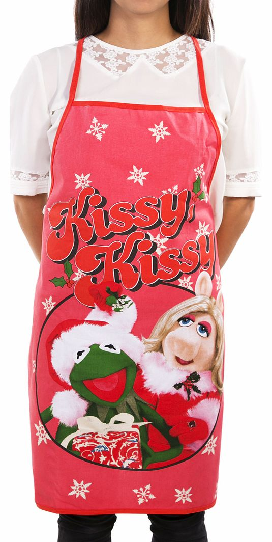 Muppets Kermit And Miss Piggy Christmas
