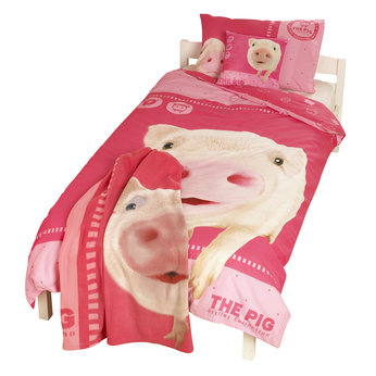 The Pig Single Duvet Set Review Compare Prices Buy Online