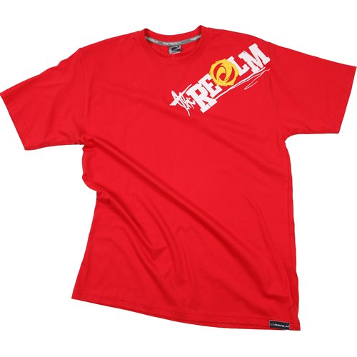 Mens The Realm Kids Fushion Tee Flame