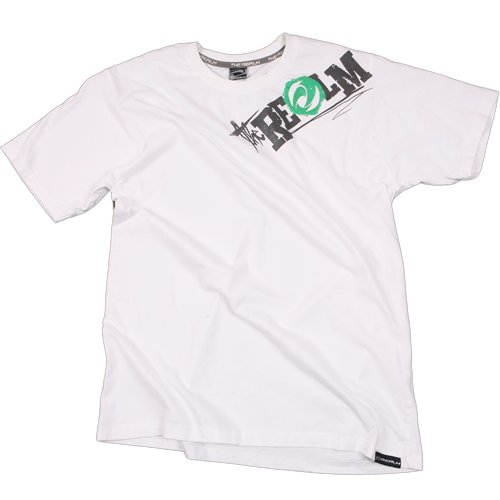 Mens The Realm Kids Fushion Tee White