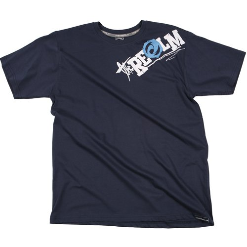 Mens The Realm Kids Fusion Tee Dark Indigo