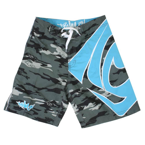 Mens The Realm Kids Howitzer Boardshort Carcoal