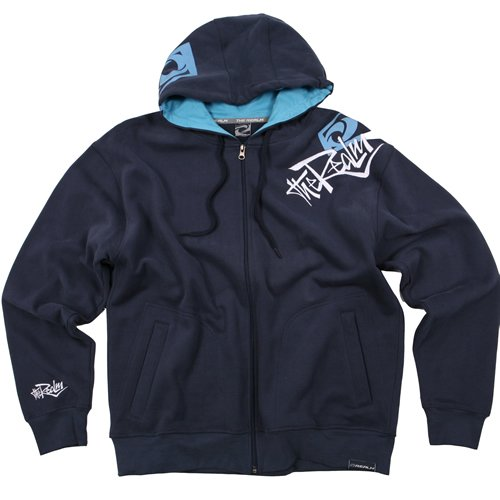 Mens The Realm Kids Oxide Hoody Dark Indigo
