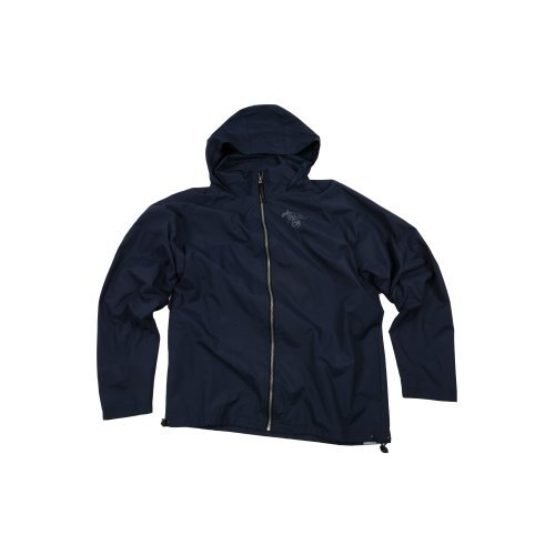 Mens The Realm Kids Throwback Zip Through Jacket Dark Indigo