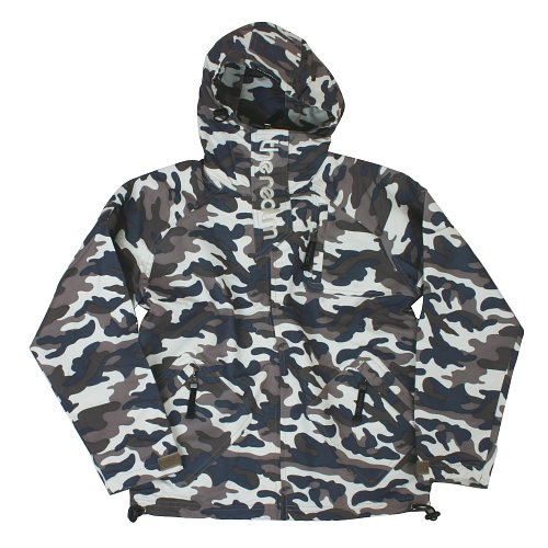 Mens The Realm Trooper Camo Kids Jacket Foam Camo