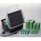 The Solar Trader Solar Battery Charger with Multi Jack
