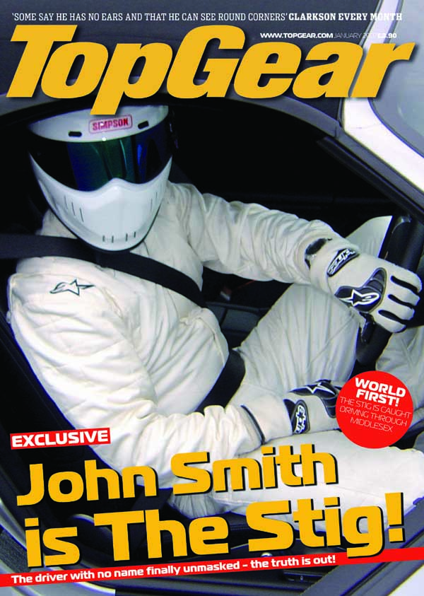 The Stig Personalised Poster The Stig Standing - product image