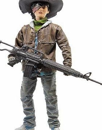 The Walking Dead Walking Dead Comic Collectable Toy - Series 4 Carl Grimes Action Figure
