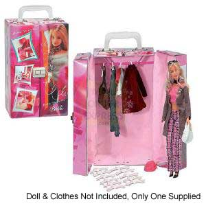 barbie wardrobes