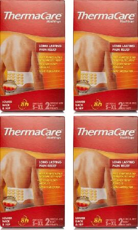 ThermaCare, 2102[^]0097812 Back - 8 Single Use Heat Wraps