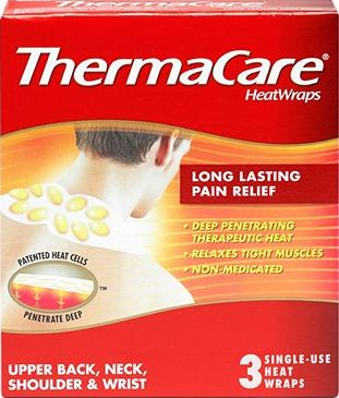 ThermaCare, 2041[^]10083719 Therapeutic HeatWraps - Neck,