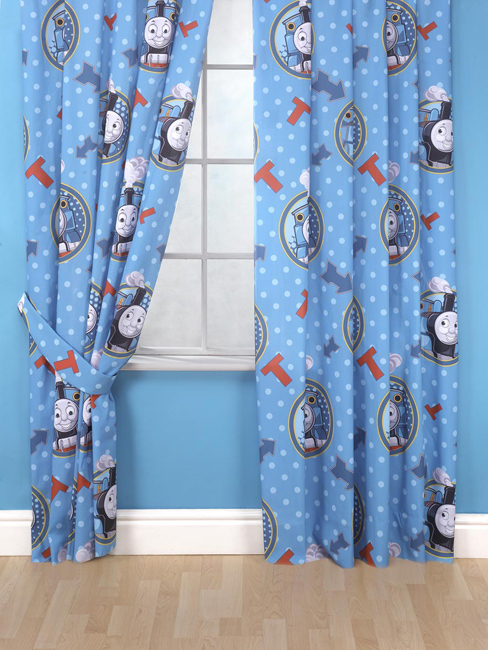 thomas friends ready made curtains 66 x 54 plus free