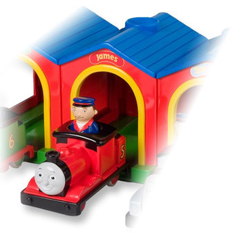 Childs Toys Thomas The Tank Engine Drive Away Talking James
