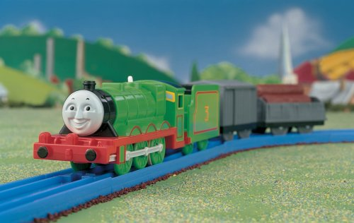 Thomas the Tank Engine Motor Road & Rail: Henry- Tomy