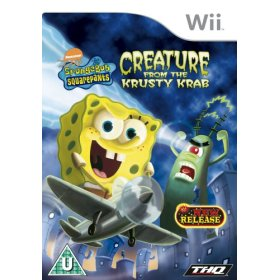THQ SpongeBob SquarePants Creature from the Krusty Krab Wii product image