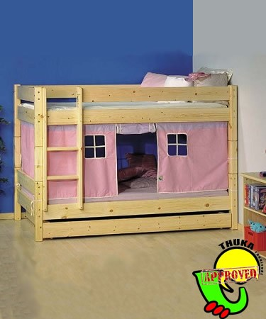 Bunk Bed Tent Top http://www.comparestoreprices.co.uk/bunk-beds/bunk-beds/thuka-kids-beds-kaspa-highsleeper-children%E2%80%99s-high-sleeper-bunk-bed.asp