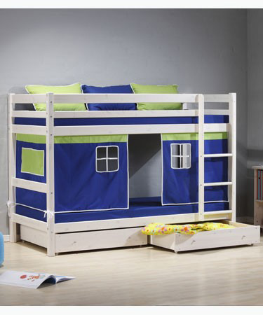 Thuka HIT WHITEWASH BUNK BED