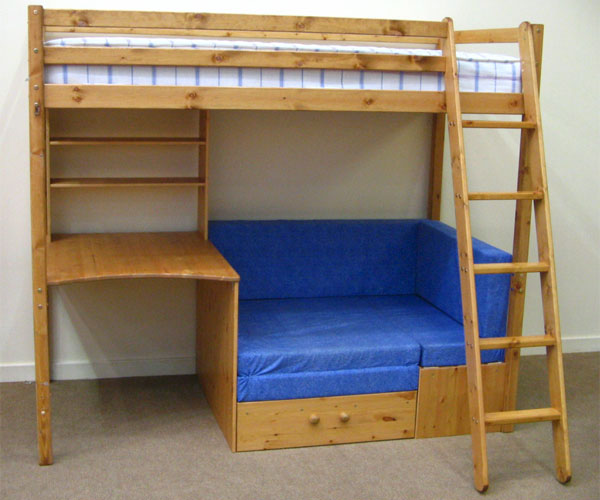 Bunk beds bunk beds thuka kids beds kaspa highsleeper Bunk beds for toddlers