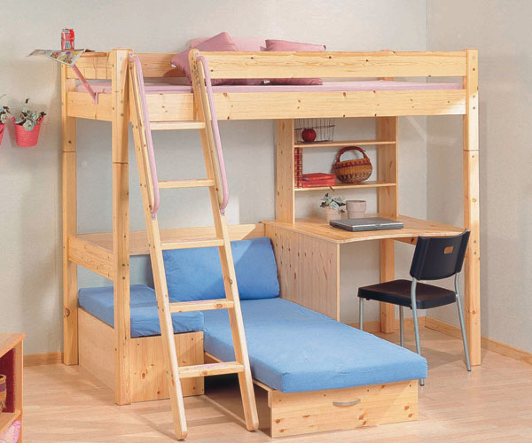 Thuka Shorty Bunk Bed Conversion Kit