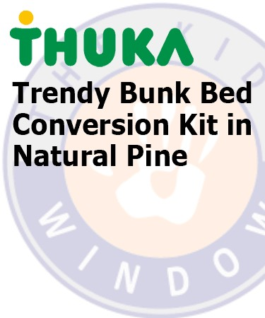 Thuka Trendy Bunk Bed Conversion Kit (Natural Pine) product image